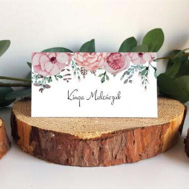 Winietka stojąca - Kwiaty Różowe